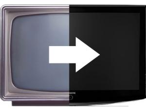 convirtiéndose en tv digital